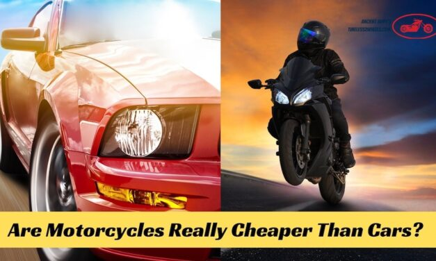 Are Motorcycles Cheaper Than Cars?