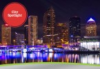 City-Spotlight-Tampa,-FL