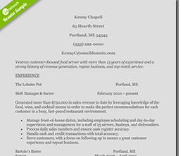restaurant-supervisor-resume