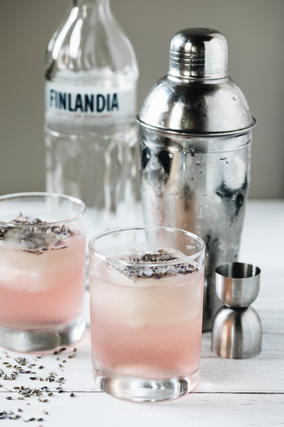 vodka cocktails, finlandia vodka, lavender simple syrup, lavender cocktails, the kentucky gent