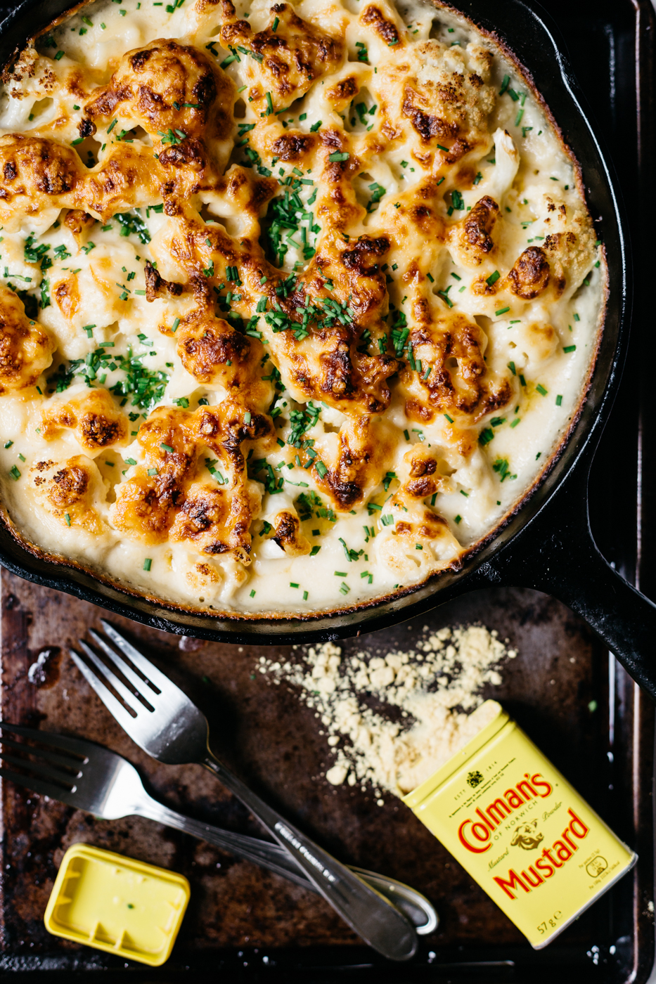 cheesy cauliflower, cauliflower recipes, make mac and cheese with cauliflower, southern cooking blog, the kentucky gent