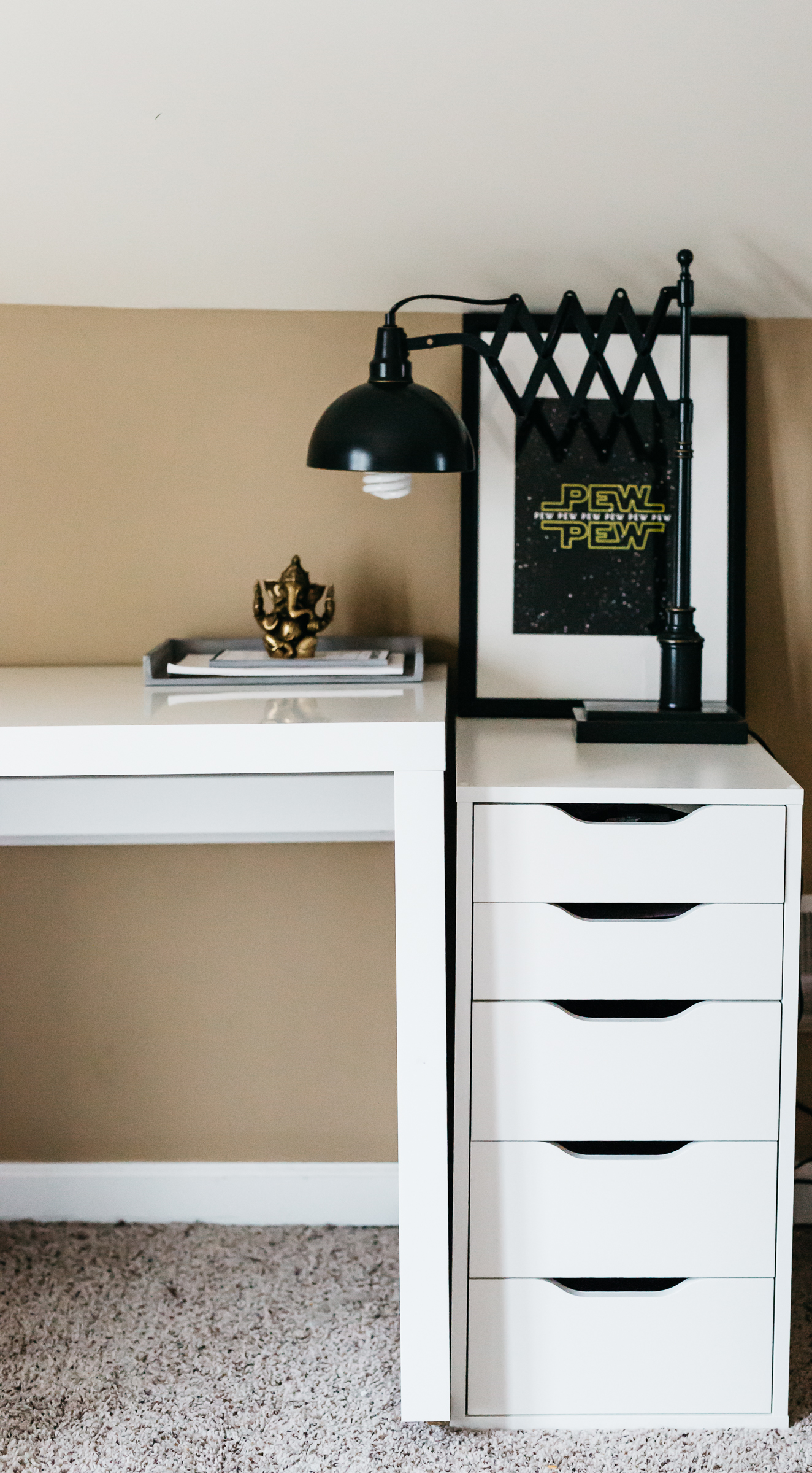 blogger home office, havenly, havenly design services, home office furniture, mens home office
