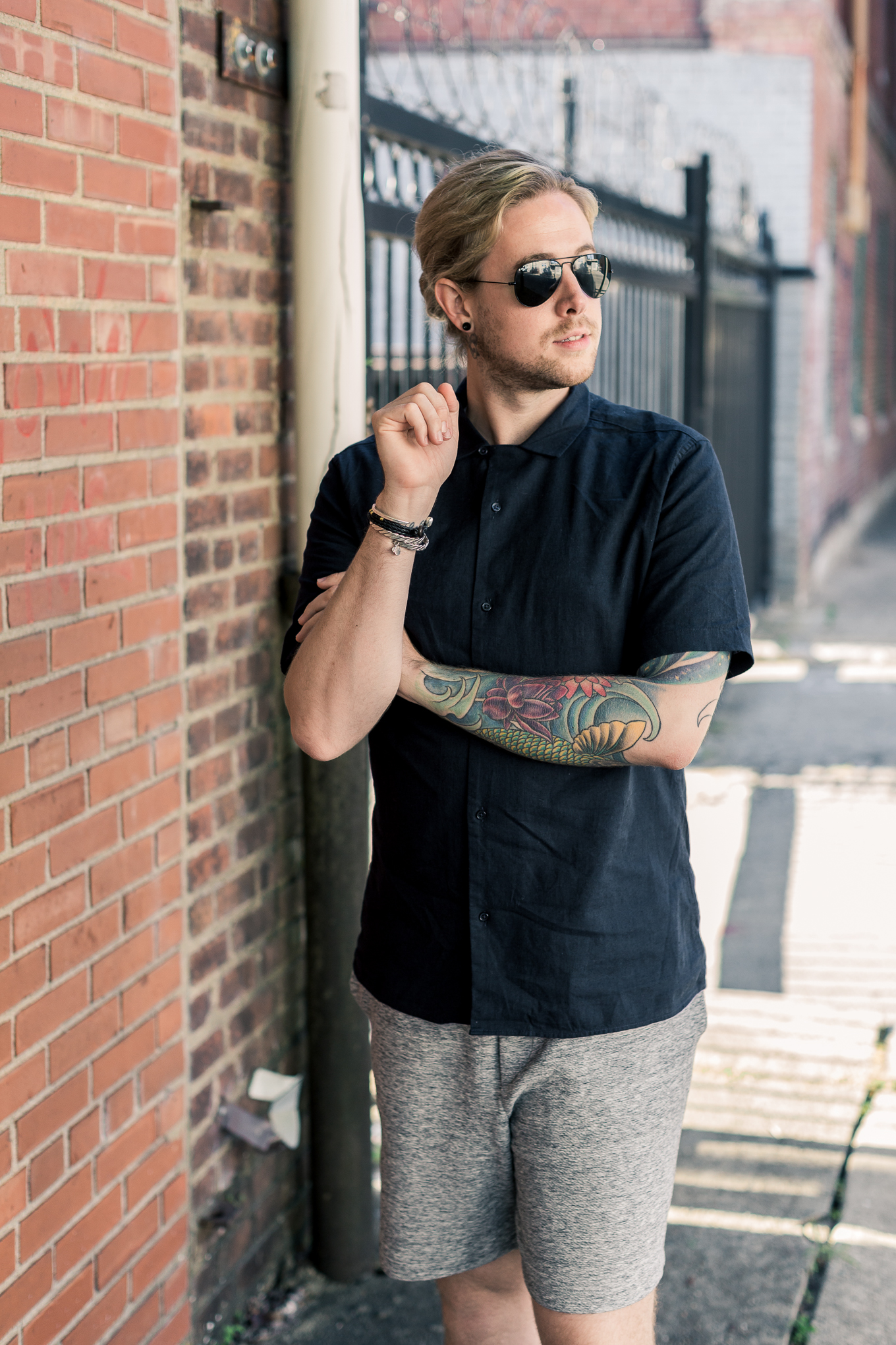 mens style blog, personal style blog, the kentucky gent, mens hm clothing, black hm shirt