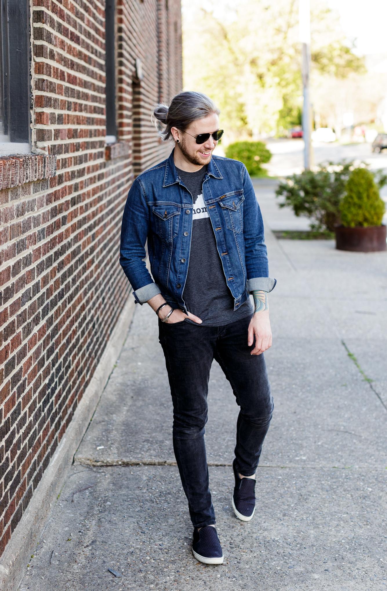 kentucky home tee, louisville kentucky, lifestyle blogger, kentucky blog, big star denim jacket