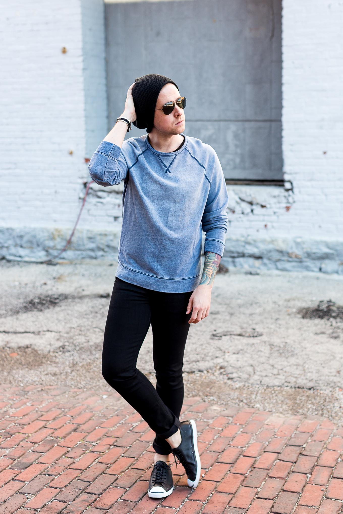 lucky brand sweatshirt, rag and bone jeans, mens fashion blogger, louisville fashion blogger, louisville blogger