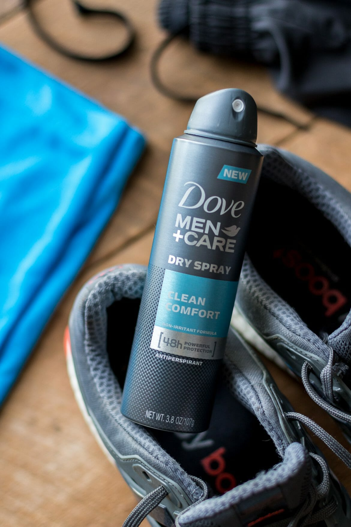 try dry, #trydry, running season, running season tips, what deodorant to wear during a run