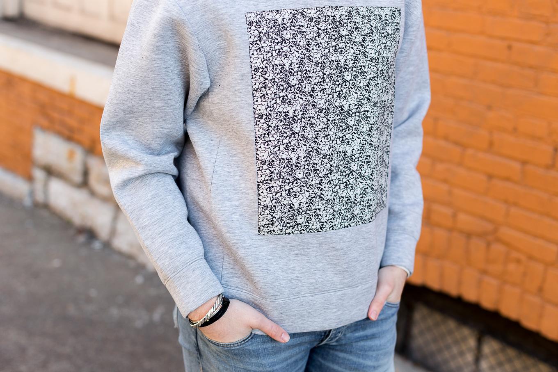 fashion blogger, lifestyle blogger, the kentucky gent, perry ellis sweatshirt, rag and bone jeans