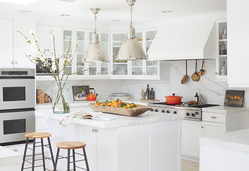 emily henderson, how to add personality to a white kitchen, interior design trends, style by emily henderson, link roundup