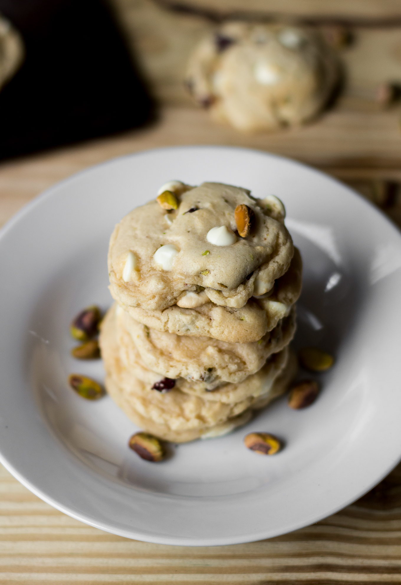 Cranberry White Chocolate Chip Pistachio Cookies | The Kentucky Gent