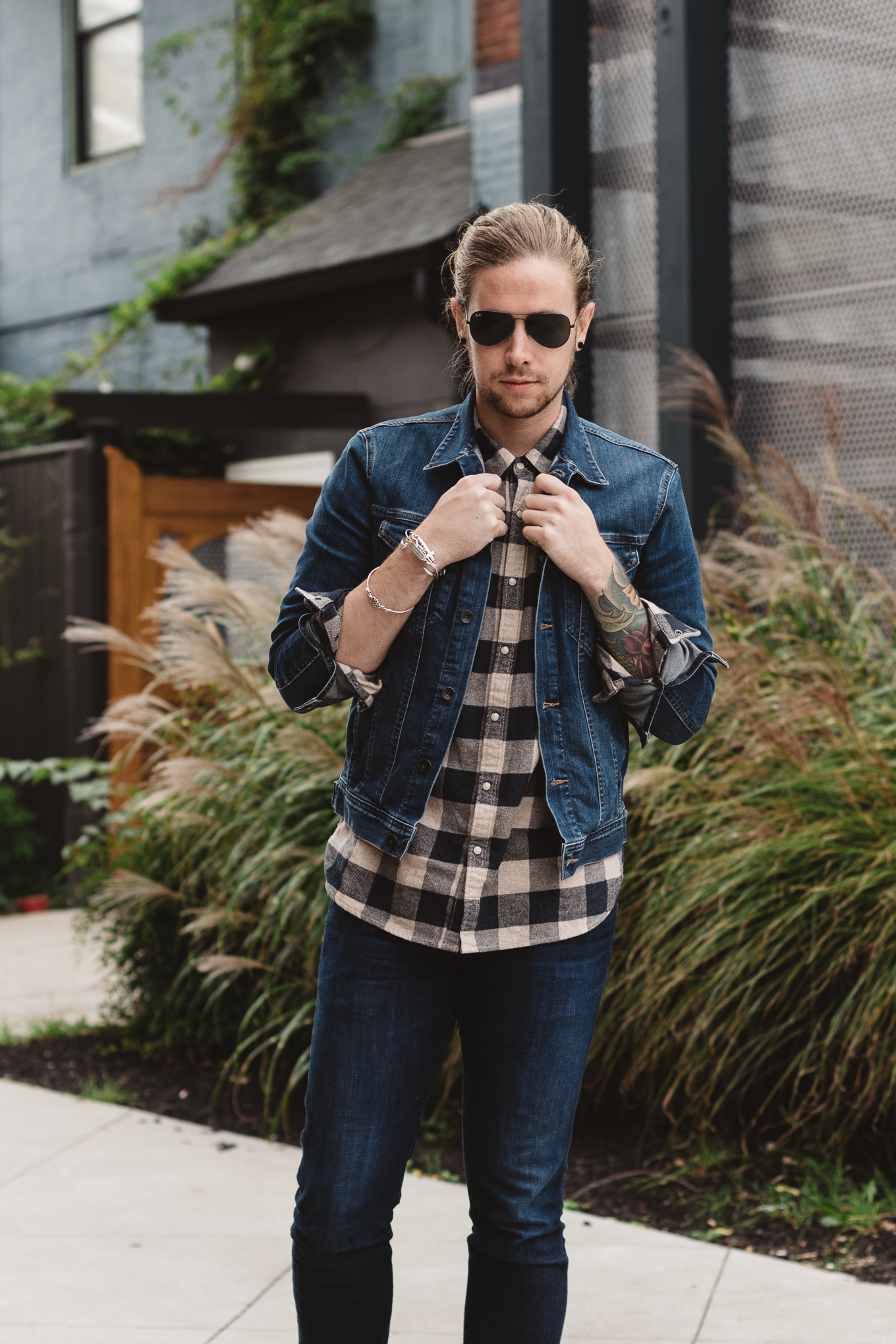 big star denim, lucky brand, mens flannel shirts, mens fall looks, how to layer for men in fall