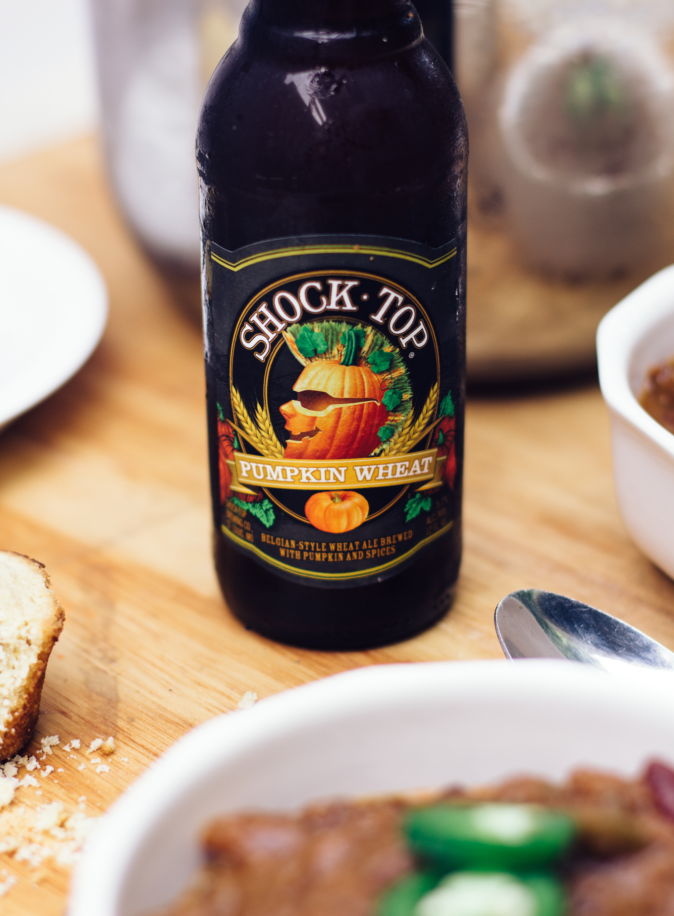 shock top, pumpkin ale, how to cook with pumpkin, fall recipes, chili cookoff