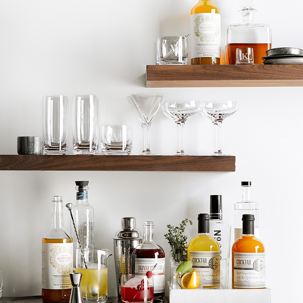 Williams Sonoma, bar cart, home decor inspiration, online shopping, saturday shop