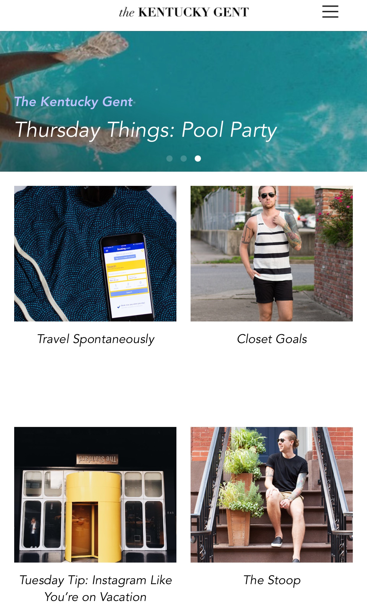 the kentucky gent, iTunes app store, app, the kentucky gent app