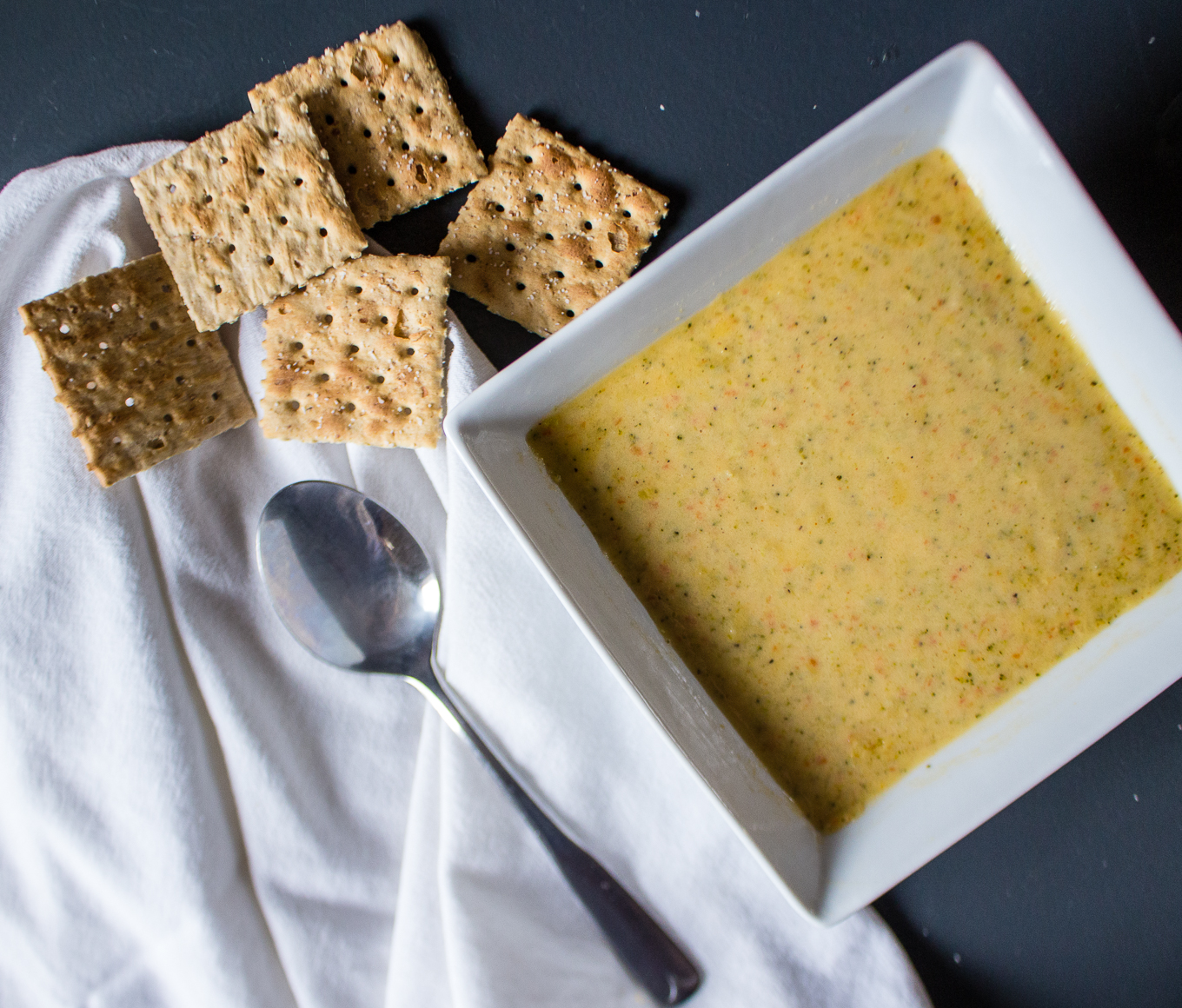 The Kentucky Gent, a men's fashion and lifestyle blogger, shares a recipe for Broccoli Cheddar soup.
