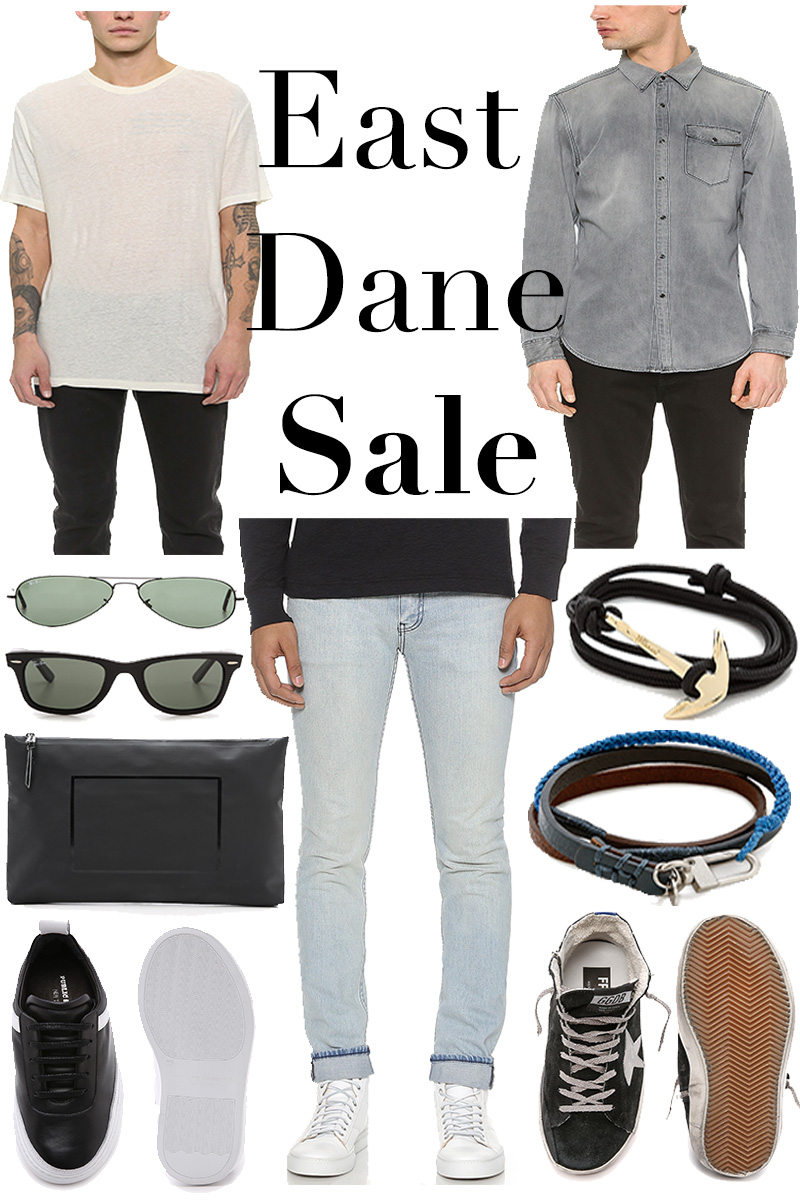The Kentucky Gent, a men's fashion and lifestyle blogger, shares the East Dane March Tiered Sale.