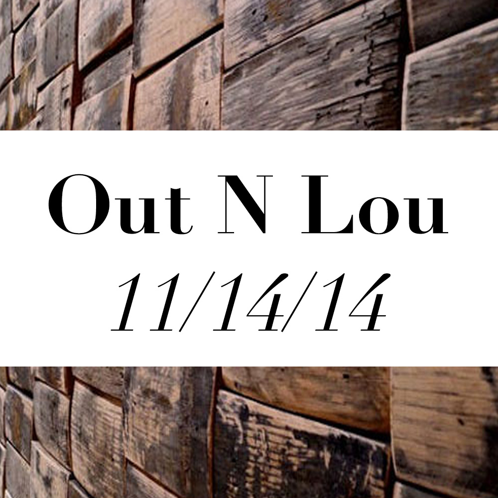 The Kentucky Gent's Out N Lou Events for the weekend November 14th, 2014 in Louisville, Kentucky.