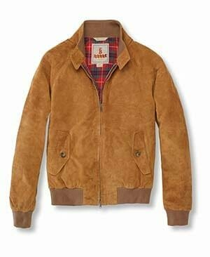 The Kentucky Gent with Baracuta G9 Suede Jacket