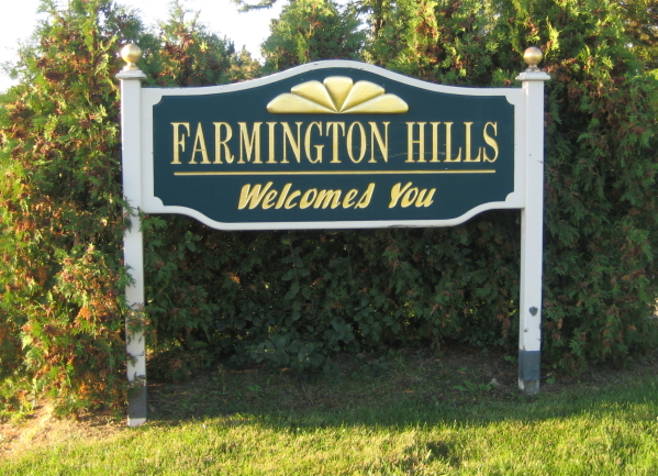 cities farmington hills