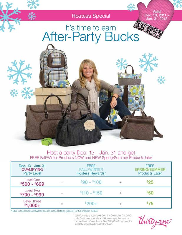Thirty-One Hostess Special