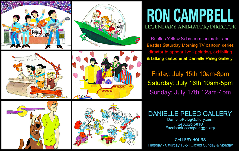 Ron Cambell Art Show