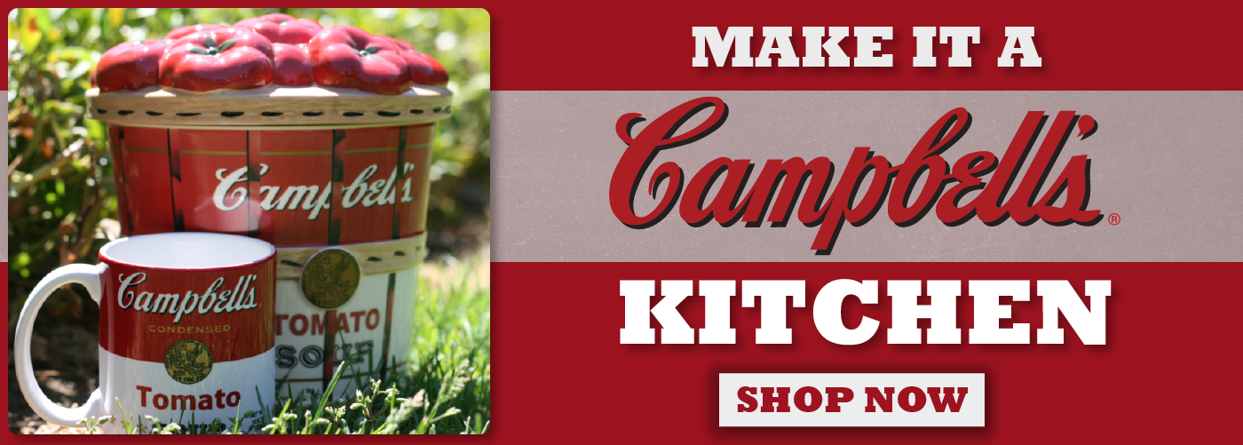 CAMPBELL'S 2016 HOLIDAY ITEMS NOW ON SALE!