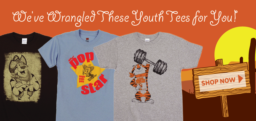 Weve Wrangled These Youth Tees For You!
