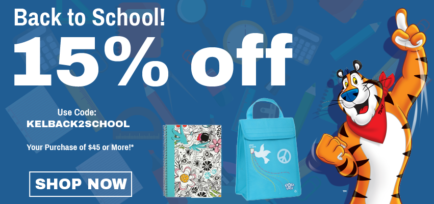 Back to School! 15% off Your Purchase of $45 of More!*