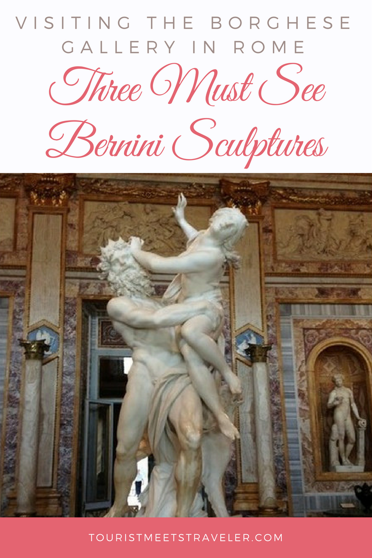 Visiting The Borghese Gallery In Rome?  Here are three must see Bernini Sculptures and an explanation of what they represent.