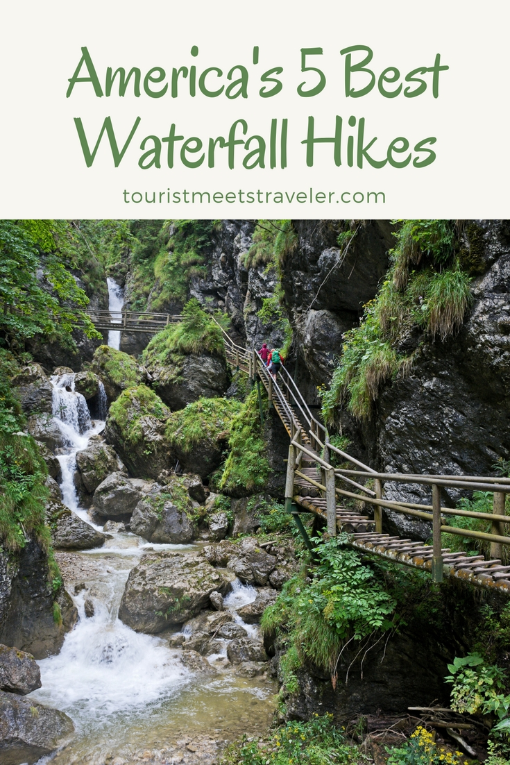 America's 5 Best Waterfall Hikes