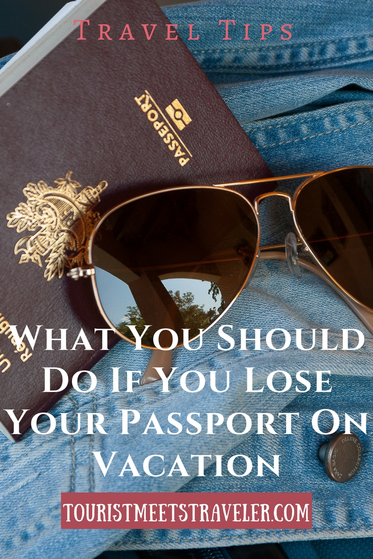 Lost Your Passport Travel Problem - Here's What To Do