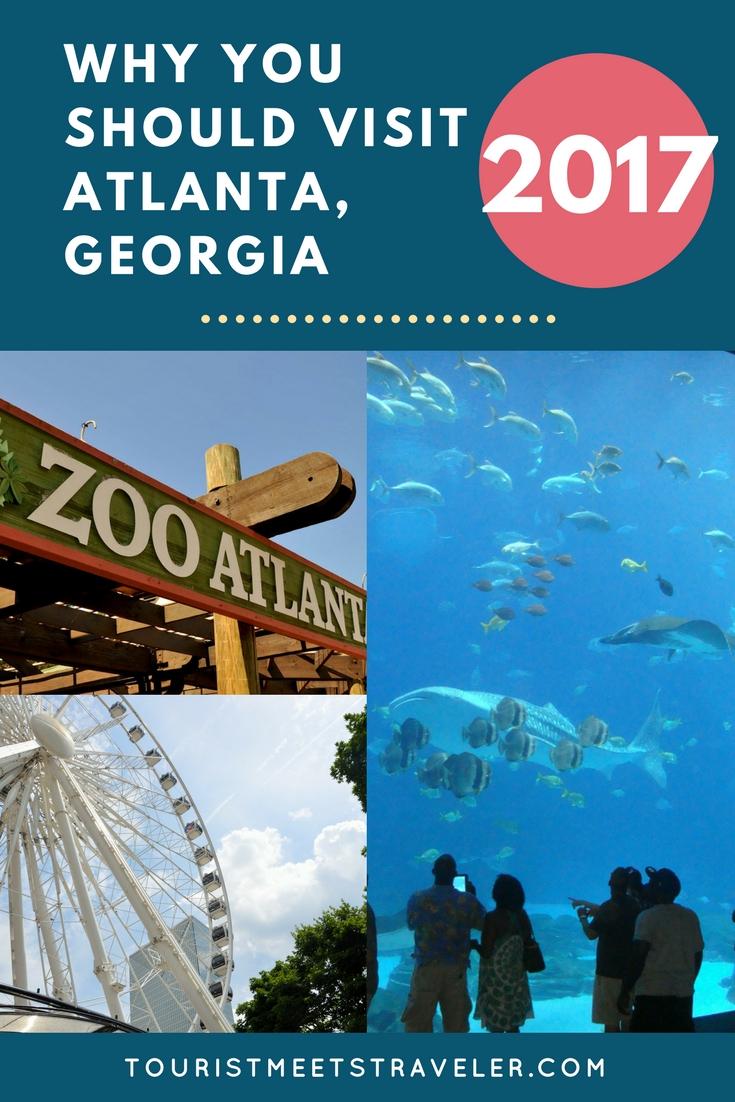 Why You Should Visit Atlanta, Georgia, in 2017