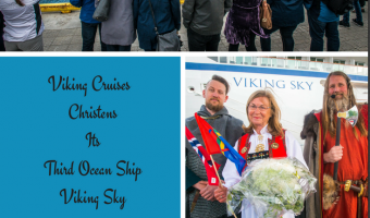 Viking Cruises Marks Summer Equinox With Christening of Third Ocean Ship in Norway