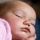 cute baby sleeping