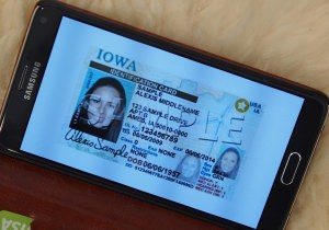 IA Digital Drivers License