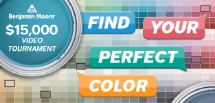 Benjamin Moore Find Your Perfect Color Video Tournament