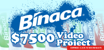 Binaca Have A Blast Commercial Contest