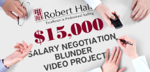 Robert Half Salary Negotiation Blunder Video Project