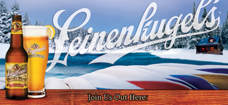Leinenkugel's Holiday Cheers From Out Here