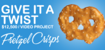 Pretzel Crisps Give It A Twist Video Project