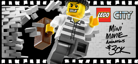The LEGO Group LEGO City Mini Movie Animations