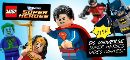The LEGO Group LEGO DC Super Heroes Video Contest