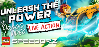 The LEGO Group LEGO Speedorz Unleash the Power Video Project