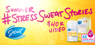 Secret Summer #StressSweatStories Video Project