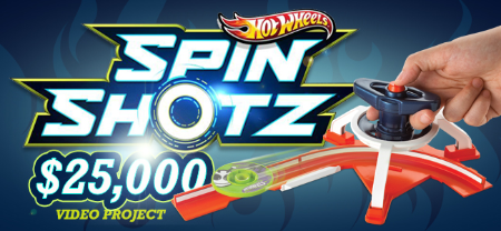 Hot Wheels® HOT WHEELS® SpinShotz™ Video Project