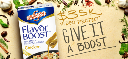 Swanson Swanson® Flavor Boost® Give It A Boost Video Project