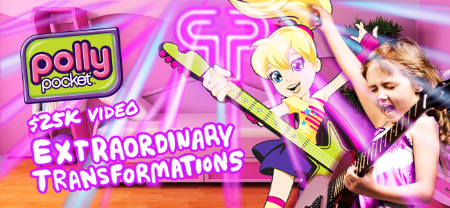 Polly Pocket™ Polly Pocket Extraordinary Transformations Video Project