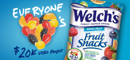 Welch's® Fruit Snacks Everyone Loves Welch's® Fruit Snacks Video Project