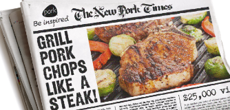 The National Pork Board Grill Pork Chops Like a Steak Video Project
