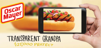 Oscar Mayer Oscar Mayer Transparent Grandpa Gig Project