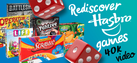 Hasbro Rediscover Hasbro Games Video Project